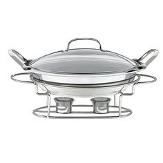 An easy and elegant way to keep your favorite party dishes warm when entertaining family and friends. The buffet pan is constructed of stainless steel with an aluminum-encapsulated base. You can prepare meals in the oven or on the stovetop and transfer them to the warming stand for immediate... - http://kitchen-dining.bestselleroutlet.net/product-review-for-classic-entertaining-round-buffet-server/