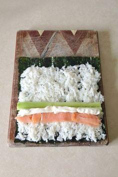 How to Make Philadelphia Sushi Rolls                                                                                                                                                      More