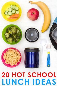 20 Hot School Lunch Ideas for Kids