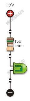Calculadora de resistencias para leds