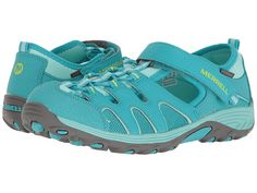 Merrell Kids Hydro H2O Hiker Sandal (Toddler/Little Kid/Big Kid) Turquoise - 6pm.com
