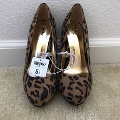 Mossimo Supply Co. Shoes - NEW Cheetah Print Heels