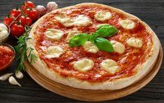 Πίτσα Μαργαρίτα Pepperoni, Vegetable Pizza, Sweets, Bread, Vegetables, Breakfast, Health, Food, Cakes