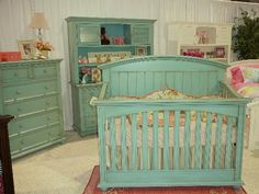 This color furniture. I'm in love and I just know Elleigh will love it too
