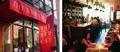 "The Red Cat, #NYC -""A place with sophisticated food, but not a whiff of arrogance."""