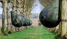 World's Coolest tents: TreeTents, by Dutch designer Dré Wapenaar