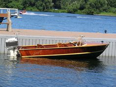 Classic Antique Wooden Boats For Sale Wooden Boats For Sale, Wooden Speed Boats, Outboard Motors For Sale, Runabout Boat, Wood Boat Plans, Motor Yachts, Classic Wooden Boats, Cabin Cruiser, Boat Engine