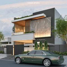Modern Exterior House Designs, Best Modern House Design, Modern House Facades, Bungalow House Design, Exterior Design, House Outside Design, House Front Design, Small House Design, Architecture Building Design