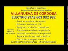 Electricistas VILLANUEVA DE CÓRDOBA 603 932 932 Baratos