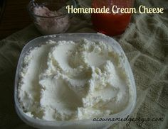 how to make your own cream cheese