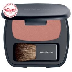 bareMinerals Ready Blush in The Aphrodisiac - supposed to be a peachy pink with subtle golden shimmer, love bare minerals stuff Bare Minerals, Blush Makeup, Beauty Makeup, Cheek Makeup, Makeup Tips, Makeup Ideas, Blush Beauty, Face Makeup, Makeup Hacks