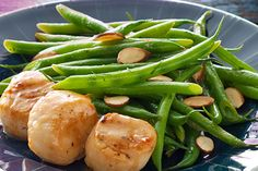 These delicious scallops are surprisingly easy to prepare.