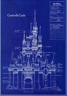 Cinderella Castle Blueprint