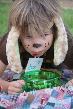 """Cute Game ideas for a """"Gingham Dog and Calico Cat"""" party"""
