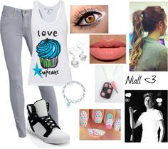 """""""Going to Starbucks with Niall!! 3"""" by lala-2000 on Polyvore"""
