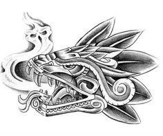 Aztec Tattoo Design Pattern Art
