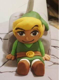 Cake topper - Link - Zelda
