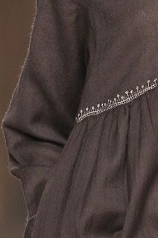 just a tiny bit of stitching detail can make all the difference... from tm collection