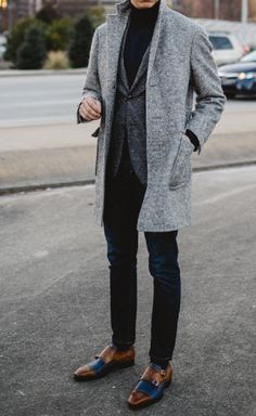 All About the Grey Overcoat - Men's Fashion Inspiration
