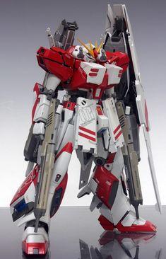 MG 1/100 Red Hi-Nu Gundam H.W.S. - Customized Build Modeled by Redbrick
