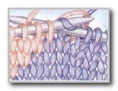 Курс вязание спицами. Интарсия. Смена цветов