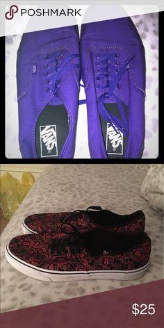 Vans 2 different pairs Vans Shoes Sneakers