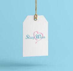 [ Логотип для производителя пижам для дома и прогулок Sleep Wear ]