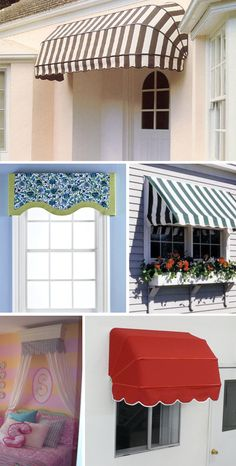 french window awnings