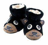 Acorn Bear Baby Slippers