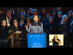 Discurso de Cristina Kirchner en la Fiesta Patria Popular del 25 de Mayo