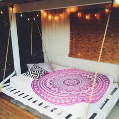 Roundie Mandala Pink Ombre Wall Hanging Beach Throw – TheNanoDesigns