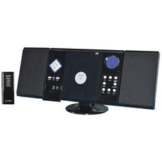 Jensen Wall-mountable Cd System With Am And Fm Stereo Receiver