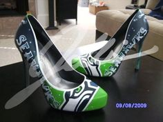 Seattle Seahawks Heels!