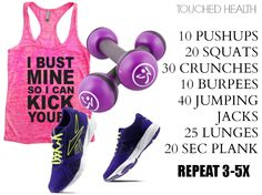 Quick 15 Minute Workout | Touched