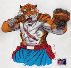 Tiger Sagat by Ron Ackins