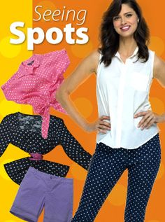 Seeing Spots #budgetbabecontest  Love Polka Dots. Chic. Classy. and Fashion Forward :)