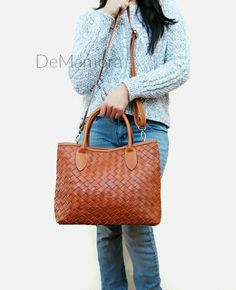 SALE Leather bag crossbody leather handbag leather by DeMamora