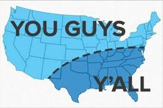 """Partly correct, however some Burroughs of NYC and a portion of New Jersey should include """"yous guys"""" ;)"""