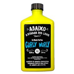Curly Wurly Co Wash/No Poo Lola Cosmetics na Época Cosméticos Perfumaria - Época Cosméticos
