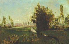Emil Carlsen-Spring Landscape