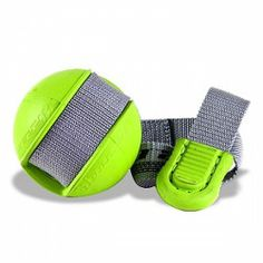 6 Pack JW Pet Silver Rubber Dog Toy $2.99. Twirl it and play tug of war with your dog. Throw it and let your dog retrieve the ball. Constructed of a durable, natural rubber ball. Ball diameter: 2.5-inches Strap length: 17-inches.