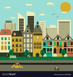 Find City Life Vector stock images in HD and millions of other royalty-free stock photos, illustrations and vectors in the Shutterstock collection. Thousands of new, high-quality pictures added every day. Single Image, Vector Free, Vector Stock, City Life, Flat Design, Royalty Free Stock Photos, Graphic Design, Movie Posters, Pictures