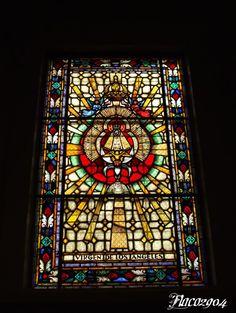 Vitral Virgen de los Ángeles, Iglesia de Santa Teresita, San José, Costa Rica