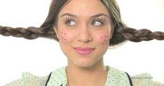 Maquiagem para as festas juninas.