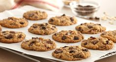 Chocolate Chunk Cherry Oatmeal Cookies : The addition of chopped chocolate, dried cherries and walnuts makes this a super chunky oatmeal cookie.