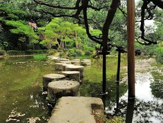 Garyu-kyo (Lying down Dragon Bridge), Naka Shin'en, Heian Shrine, Kyoto ( /muza-chan.net/japan/index.php/blog/japanese-gardens-lying-down-dragon-bridge, 2013 )