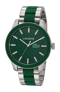 Lacoste 2010892 12.12 (Green) Watches - Lacoste, 2010892 12.12, 2010892, Jewelry Watches General, Watches, Watches, Jewelry, Gift - Outfit Ideas And Street Style 2017