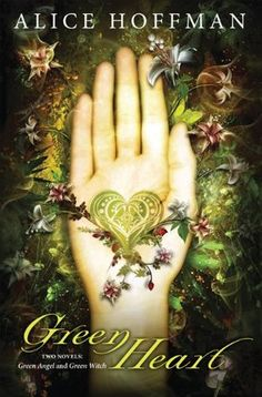 Green Heart by Alice Hoffman.  Haunted by grief and by her past after losing her family in a fire, fifteen-year-old Green retreats into her ruined garden as she struggles to survive emotionally and physically on her own.