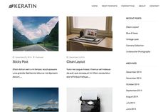50 Clean And Minimalistic WordPress Themes
