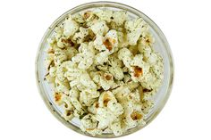 Nori Popcorn. Perfect for surf and turf snacking, this light and crisp popcorn has great seaweed flavor and isn't overly salty.
